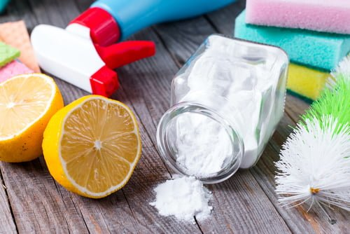 Things To Clean In Your Home With Baking Soda Vinegar And